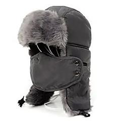 귀덮개 모자 털/모피 모자 스키 페이스 마스크 모자 남성용 여성용 보온 스노우보드 폴리에스터 플리스 스키 캠핑 & 하이킹 스노우스포츠 다운힐 겨울