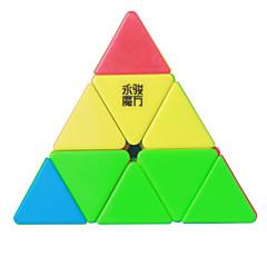 Pürüzsüz Hız Küp Pyraminx Hız profesyonel Seviye Sihirli Küpler Anti-pop ayarlanabilir yay ABS