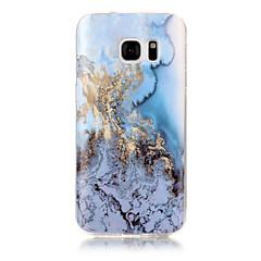 Mert IMD Case Hátlap Case Márvány Puha TPU mert Apple S7 edge S7 S6 edge S6 S5 S4 S3
