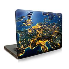voor MacBook Air 11 13 / pro13 15 / pro met retina13 15 / macbook12 de aarde 's nachts beschreven apple laptop case