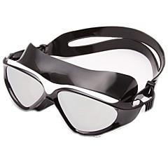 Úszás Goggles Páramentesítő Kopásgátló Vízálló Állítható méret UV-védő Karcolásálló Törhetetlen Csúszásgátló pánt Galvanizálás