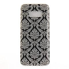For IMD Mønster Etui Bagcover Etui blondedesign Blødt TPU for Samsung S8 S8 Plus S7 edge S7 S6 edge S6