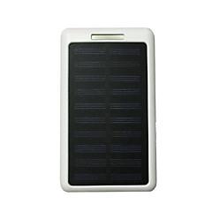 10LED τράπεζα ισχύος 8000mah 5v2a με ηλιακή φόρτιση για κινητό τηλέφωνο