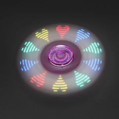 Dikkat Çarkları El iplik makinesi Oyuncaklar Tri-Spinner LED Spinner EDC Stres ve Anksiyete Rölyef Ofis Masası Oyuncakları Öldürme Süresi