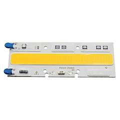 Smart ic led cob 50w a c220v 230v lampe lys til diy udendørs spotlight oversvømmelse lys koldt / varmt hvidt (1 stk)