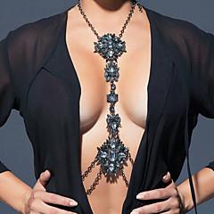 Damskie Biżuteria Łańcuszek na brzuch Łańcuch nadwozia / Belly Chain Modny Bohemia Style Hip-Hop Ręcznie wykonane Tęczowy TureckiŻywica