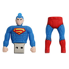 Νέα καρτούν δημιουργική superman usb 2.0 64GB flash drive u μνήμη stick μνήμης