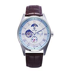Tevise Heren Voor Stel Sporthorloge Dress horloge Modieus horloge mechanische horloges KwartsKalender Waterbestendig Hol Gegraveerd