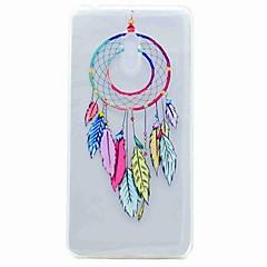 Til Nokia 6 case cover gennemsigtigt mønster bag cover case dream catcher tpu soft tpu sag