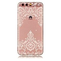 Huawei P10 lite p10 suojus läpinäkyvä kuvio takakansi tapauksessa kukka pehmeä TPU Huawei P9 lite P8 lite