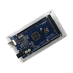 Koruyucu akrilik arduino mega 2560 r3 için durum - şeffaf