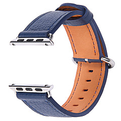 Banda de relogios para Apple Watch series 1 2 38mm Bracelete de couro de reposição de couro genuíno de 42mm