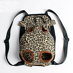 Kat / Hond Dragers & Reistassen / voorzijde Backpack Huisdieren Hoesjes draagbaar / Luipaard Meerkleurig Stof