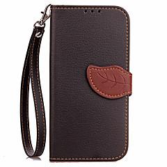 Til samsung galaxy note 4 note 5 kuffert kortholder lommebok med stativ flip fuld kropscase solid farve hard pu læder til note 2 note 3