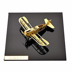 بانوراما الألغاز مجموعة اصنع بنفسك قطع تركيب3D تركيب معدني اللبنات DIY اللعب طيارة