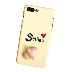 Til Etuier Mønster GDS squishy Bagcover Etui Ord / sætning Hårdt PC for Apple iPhone 7 Plus iPhone 7 iPhone 6s Plus iPhone 6 Plus iPhone