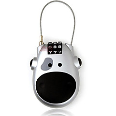 Seeyoga nn0129 stalowe 3-cyfrowe hasło mini-chowany zamki lina blokada rowerowa zabezpieczenie zamka szyfrowe blokadę dail lock