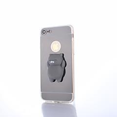 Til iPhone 8 Plus Etuier Spejl GDS squishy Bagcover Etui Kat Helfarve 3D-tegneseriefigur Hårdt PC for Apple iPhone 8 Plus iPhone 7 Plus