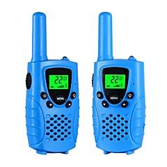 Walkie talkies gyerekeknek 22 csatornás mikro usb töltés 2 utas rádió 3 mérföld (max. 5miles) frs / gmrs kézi mini walkie talkies