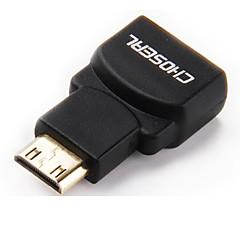HDMI 1.4 Adapter, HDMI 1.4 to Mini HDMI Adapter Han - Hun Forgyldt kobber