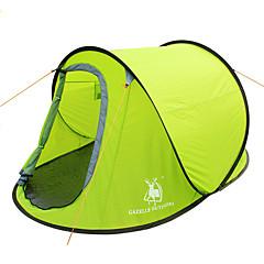 GAZELLE OUTDOORS 2 kişi Çadır Tek Kamp çadırı Bir Oda Çadırı aç Su Geçirmez Rüzgar Geçirmez Ultravioleye Karşı Dayanıklı Katlanabilir için