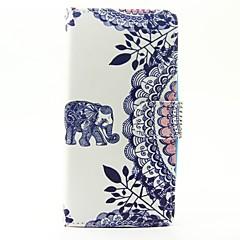 Case voor wiko lenny 3 lenny 2 case cover de olifant patroon pu lederen cases voor wiko zonsondergang 2