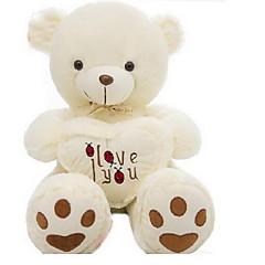 Zabawki Niedźwiedź Coral Fleece Len / bawełna Wszystkie grupy wiekowe