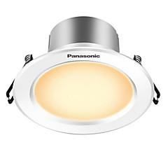 1pc 5w led downlight celing light warm geel ac220v grootte gat 90mm 300lm