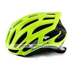 Unisex Bisiklet Kask 25 Delikler Bisiklet Bisiklete biniciliği M: 55-58CM L: 58-61CM