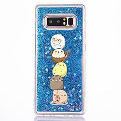 til case cover flowing væske mønster bagcover case cartoon hard pc til Samsung Galaxy Note 8 note 5 note 4 note 3