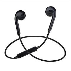 s6 i ørekablet hovedtelefoner elektrostatisk plastik sport&fitness hovedtelefon med mikrofon headset