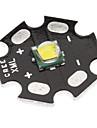 Cree XML-T6 White Light 20mm LED Lamp Bulb(Black)