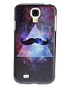Beard Padrão Hard Case para Samsung i9500 Galaxy S4