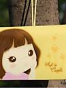 titular de la galleta tarjeta de credito chica (color al azar, por 12 cartas)