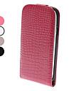 флип-открытый дизайн благородный аллигатор зерна кожаный чехол для Samsung Galaxy S3 i9300