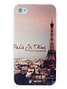 Eiffel Tower Dull Polish Embossment Back Case for iPhone 5/5S