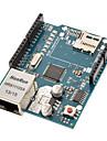 (Pour Arduino) Ethernet bouclier avec puce Ethernet Wiznet W5100 / fente tf