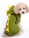 Chien Costume / Pulls a capuche Rouge / Vert Vetements pour Chien Hiver / Printemps/Automne Dessin-Anime Mignon / Cosplay