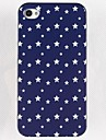 All Over The Sky Star Pattern Жесткий Клей кромкошлифовального чехол для iPhone 4/4S