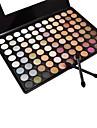 88 Paleta de Sombras Molhado / Mate / Mineral Paleta da sombra Po Grande Maquiagem para o Dia A Dia / Maquiagem Esfumada