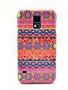 For Samsung Galaxy Case Pattern Case Back Cover Case Lines / Waves PC Samsung S5