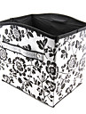 teste padrao de flor caixa de armazenamento tipo convexo