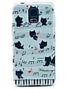 For Samsung Galaxy Case Pattern Case Back Cover Case Cat PC Samsung S5