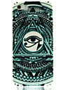 Triangle Eyes Pattern Hard Case for iPhone5/5S