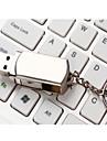 8GB Rotate Metal Material Mini USB Flash Pen Drive