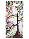 Colorful Tree of Life Transparent Pattern PC Hard Case for Sony Xperia M2 S50h