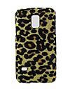caso difícil padrão de design estampa de leopardo para samsung galaxy s5 mini-