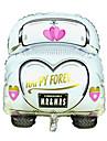 casamento de alumínio balão carro casamento membrana