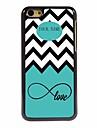 personnalise vague cadeau de la mer et de l\'amour conception du boitier en metal pour iphone 5c