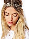 Vintage Gold Leaf Crystal Hairband Headband Head Chain Hair Jewelry Hair Accessires Head Jewelry